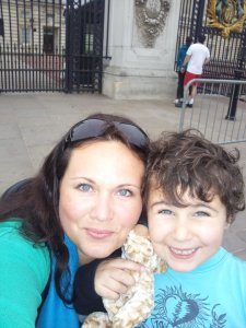 Me and my little man in 2010